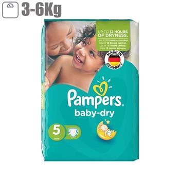 پوشک پمپرز مدل Baby Dry سايز 2 بسته 31 عددي