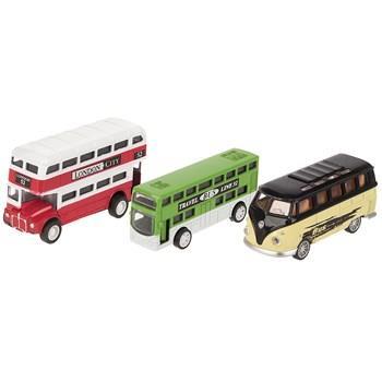 ست ماشين بازي کپي کار 4 مدل Black Bus