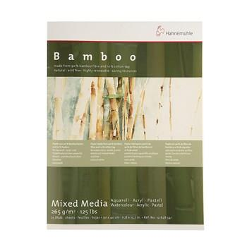 Hahnemuhle Bamboo Watercolor Notebook Canvas Size 30 in 40cm 25 Sheets