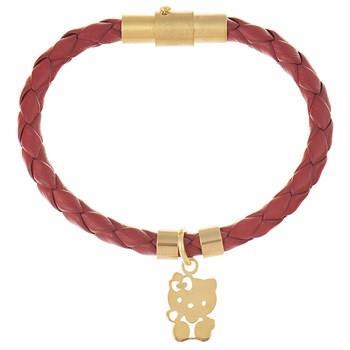 دستبند کودکان طلا 18 عیار رزا مدل BW107