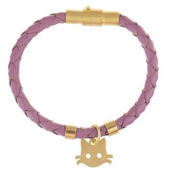 دستبند کودکان طلا 18 عيار رزا مدل BW101