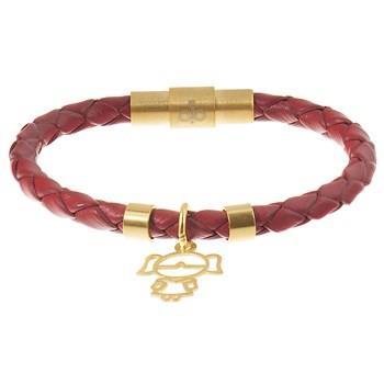 دستبند کودکان طلا 18 عیار رزا مدل BW106