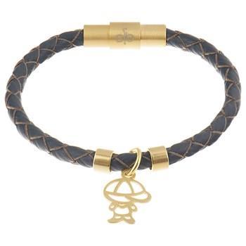 دستبند کودکان طلا 18 عيار رزا مدل BW103