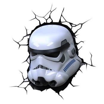 چراغ دیواری تری دی لایت اف ایکس مدل Stormtrooper
