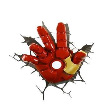 چراغ دیواری تری دی لایت اف ایکس مدل Iron Man Hand