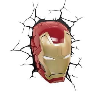 چراغ دیواری تری دی لایت اف ایکس مدل Iron Man Face