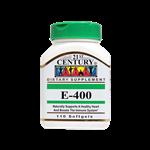 کپسول ژلاتینی ویتامین E 400 واحد 21 سنتری 110 عددی