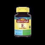 کپسول ژلاتینی ویتامین E-400 واحد نیچرمید 100 عددی