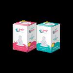 سر شیشه ارتودنسی پنبهریز سایز کوچک مناسب برای نوزادان 0 تا 6 ماه-ارتودنسی