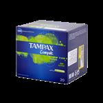تامپون تامپکس کامپک سوپر با قدرت جذب بالا 3 قطره مناسب بانوان 20 عددی