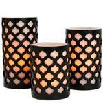 شمع بدون شعله کاليفرنيا کندل مدل CC31MRCN - بسته 3 عددي