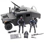 M And C S.W.A.T Humvee 77123 Action Figure
