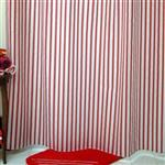 پرده حمام فرش مريم مدل Saman - سايز 180 × 180 سانتي متر