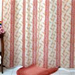 پرده حمام فرش مريم مدل Sina - سايز 180 × 180 سانتي متر