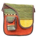 کیف دوشی جاجیم راگچری کد SHF109