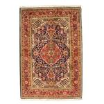 فرش دستبافت قدیمی یک و نیم متری راگچری کد BA9579