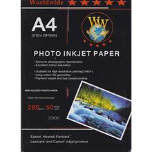 Worldwide G260-50 Glossy Photo Paper