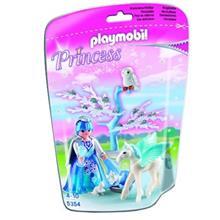 ساختني پلي موبيل مدل Winter Princess with Pegasus 5354