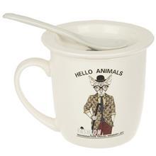 ماگ بنیکو مدل Hello Animals