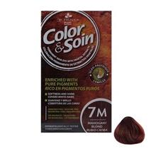 کیت رنگ مو کالر اند سوان سری قرمز شماره 7 Color-And-Soin-Red-7M M