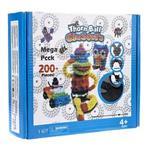Mega Pack Bunchems 200 Pcs Game Building