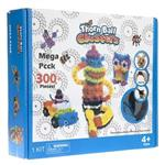Mega Pack Bunchems 300 Pcs Game Building