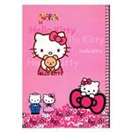 دفتر نقاشی 50 برگ  افرا طرح Hello Kitty 1 جلد شومیز