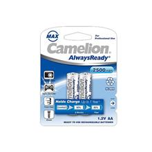 Camelion AA Max Always Ready 2500 mAh ReChargeable 2Pics Battery
