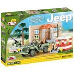 ساختني کوبي مدل Jeep Willy MB Barracks With Checkpoint