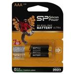 Silicon Power Alkaline Ultra AAA Battery Pack of 2