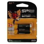 Silicon Power Alkaline Ultra AA Battery Pack of 2