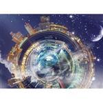 تابلوی گرافیتی طرح سیاره زمین سایز 18 × 13