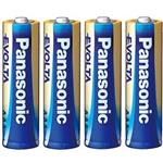 Panasonic High-Tech Evolta Alkaline AA Battery Pack Of 4