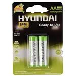 Hyundai NI-MH Rechargeable AA Battery Pack Of 2