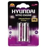Hyundai Premium Alkaline AA Battery Pack Of 2
