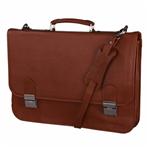 کیف اداری چرم طبیعی کهن چرم مدل L32