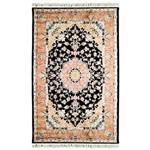 فرش ماشینی پرنا طرح بنام زمینه مشکی