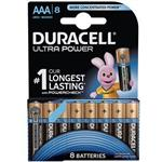 Duracell Ultra Power Duralock With Power Check AAA Battery Pack Of 8