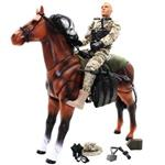 M and C In Pursuit On Horse Back 90608 Action Figure