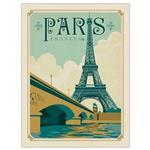 تابلوی کیدتونز طرح Paris سایز 30 × 40