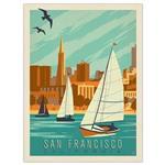 تابلوی کیدتونز طرح Sanfrancisco سایز 30 × 40