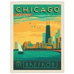 تابلوی کیدتونز طرح Chicago 2 سایز 30 × 40