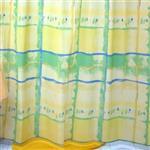 پرده حمام فرش مريم مدل Cubism - سايز 180 × 180 سانتي متر