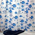 پرده حمام فرش مريم مدل Sadaf - سايز 200 × 180 سانتي متر