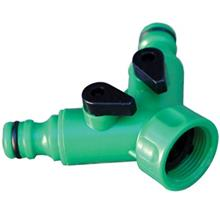 Behco BHC-3270 3/4 Inch 2-Way Connector With Shut-off Valve