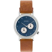 Komono Walther Cognac Watch