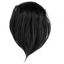 کلاه گیس تو گو مشکی Hair Wig - TOOGOO Synthetic Hair Wig Bangs Black Clipped