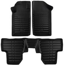 کفپوش سه بعدی چرمی خودرو بابل مناسب برای پژو 206