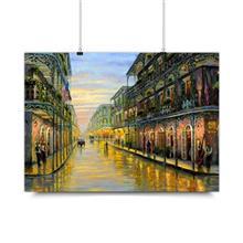 پوستر ونسونی طرح Royal Street سایز 50x70
