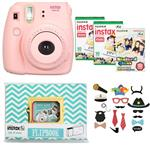 Fujifilm Instax Mini 8 Digital Camera With Flipbook, 3 Films And Photo Stickers
